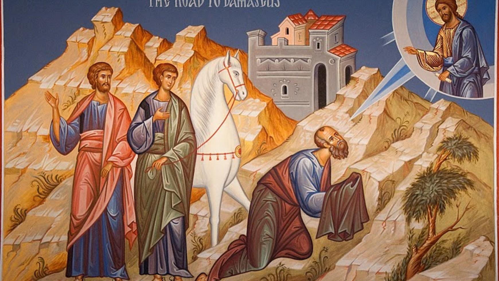 9th June 2013 – Galatians 1:11-24