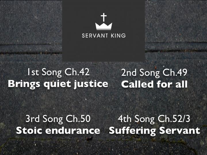 11th January 2015 – Isaiah 42:1-7